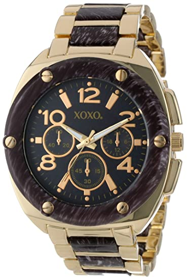 XOXO Womens XO5648 Grey and Gold Bracelet Analog Watch