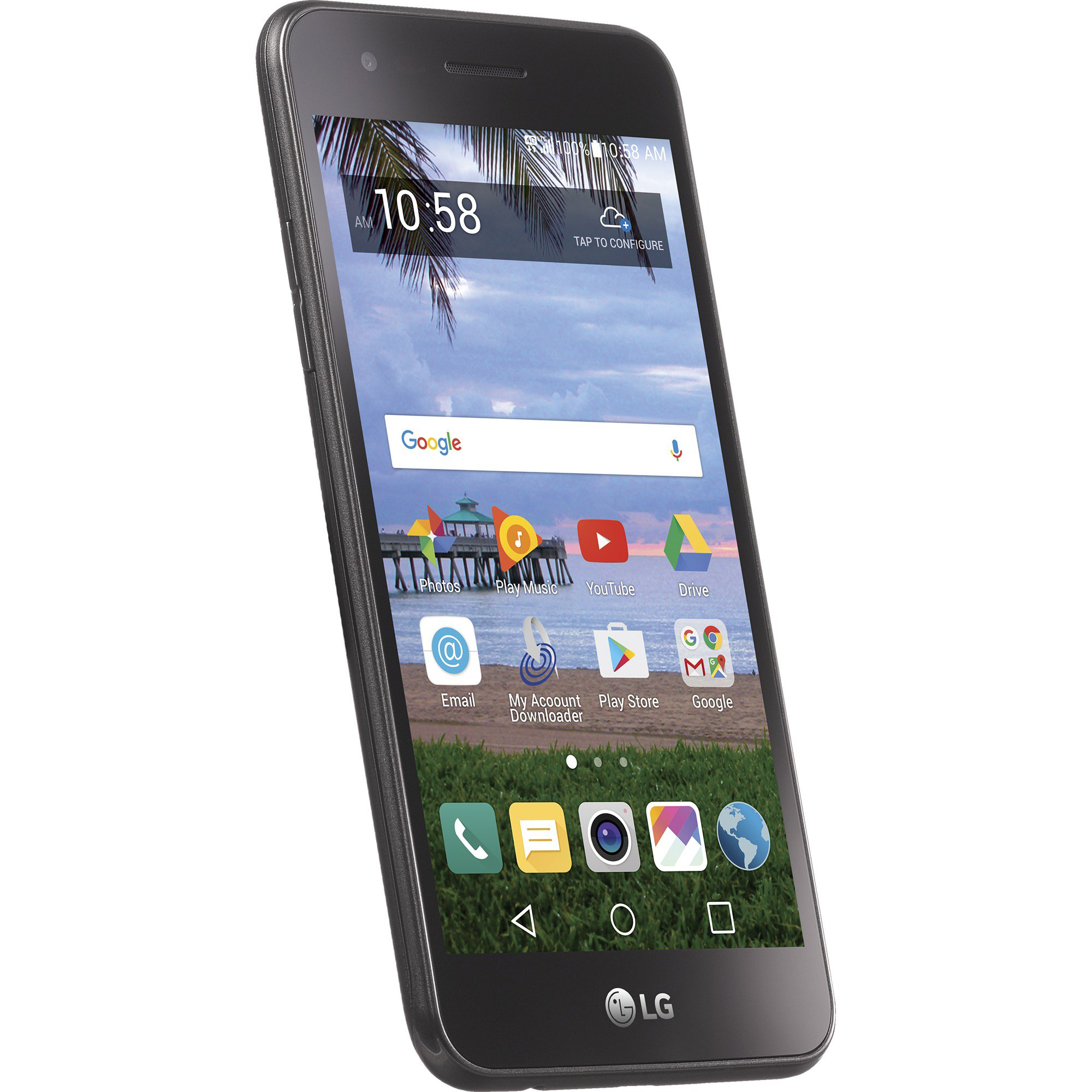 TracFone LG Rebel 2 4G LTE Prepaid Smartphone with Amazon Exclusive Free $40 Airtime Bundle by TracFone (Image #3)