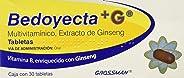 Bedoyecta Tabletas + G, 30 Piezas