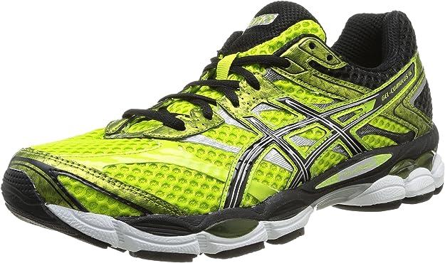 Asics Gel Cumulus 16, Zapatillas de Running para Hombre, Amarillo/Negro/Plata/Blanco, 40.5 EU: Amazon.es: Zapatos y complementos