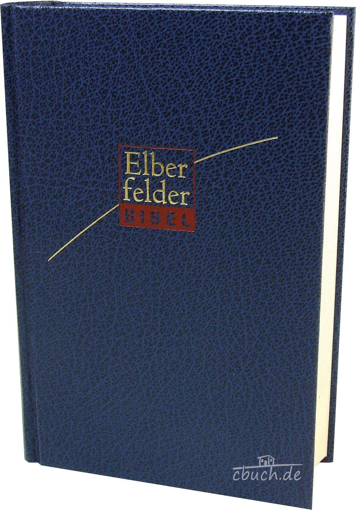Elberfelder Bibel 2006, Taschenausgabe, Skivertex blau