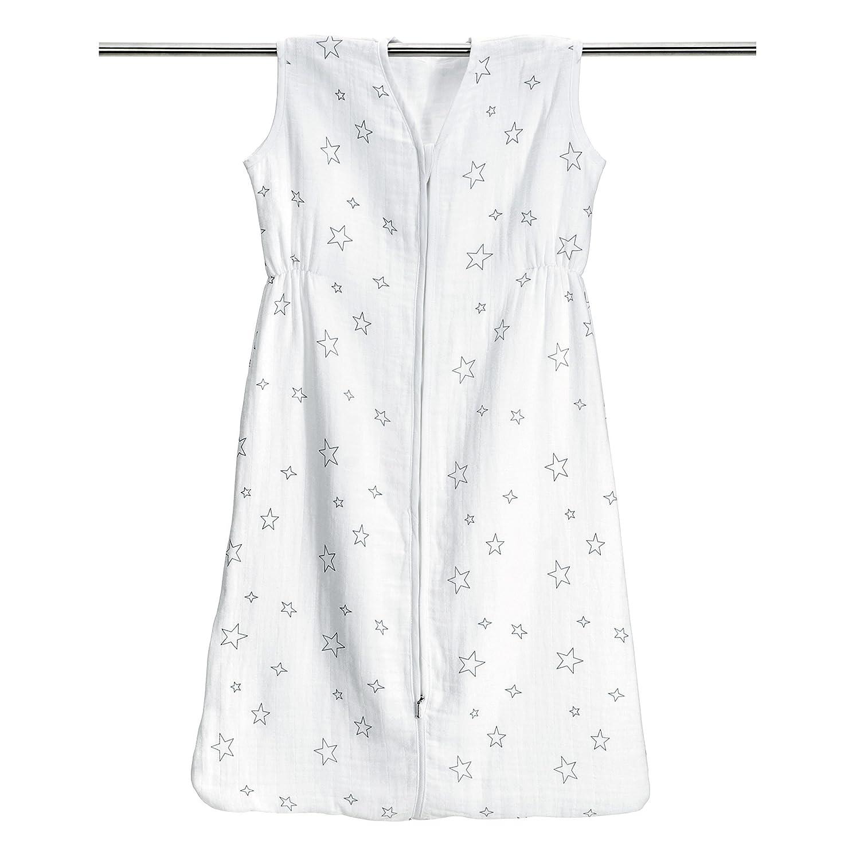 Beautiful Baby Sommer Schlafsack   Sterne Grau Aus 100% Baumwolle Musselin   Größe 90  Cm (ca. 6 18 Monate)   Besonders Atmungsaktiv U0026 Schadstoffgeprüft ...