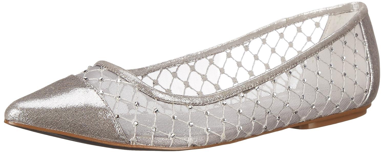 Adrianna Papell Women's Jewel Flat B00WLXX2EA 5.5 B(M) US|Silver