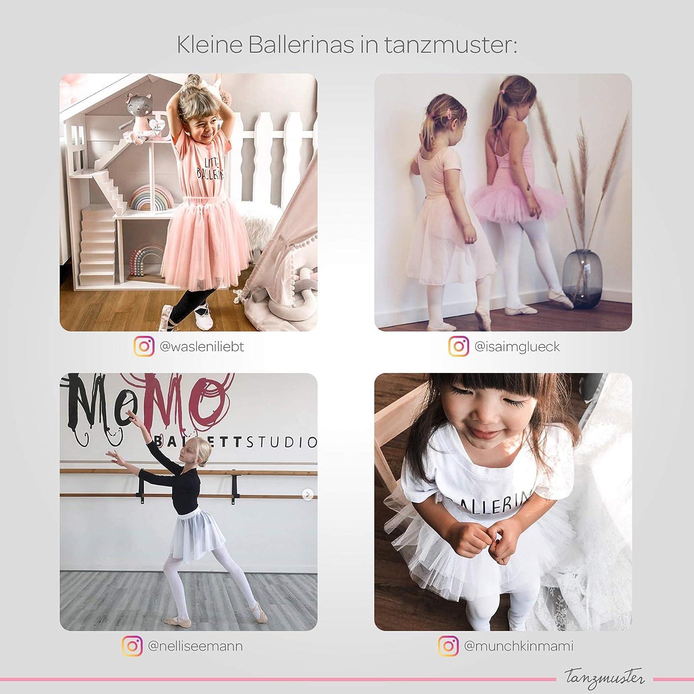 "tanzmuster Kinder Ballettstrumpfhose /""Lena/"" schwarz Ballett Strumpfhose Mädchen"