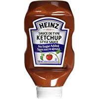 Heinz Tomato Ketchup No Sugar Added, 750mL Bottle