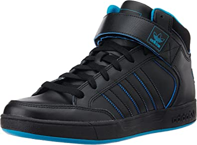 adidas Men's Varial Mid Skateboarding Shoes, Multicolour (Negbas/Agufue/Negbas), 8 UK (42 EU)