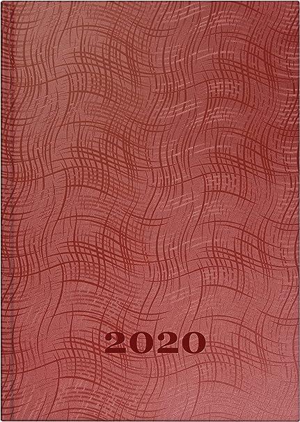 Brunnen 2020 Buchkalender Tageskalender 1S//1T 14,5x20,6cm Kunststoff 107956199
