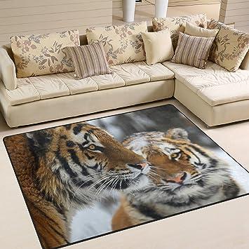 Amazon.de: ingbags Super Weich Moderner Tiger, ein ...