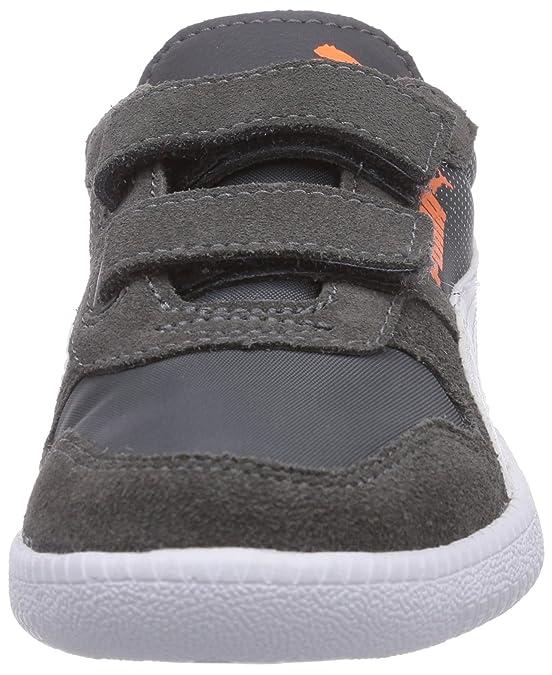 2c6ce1e064ed Puma Icra Trainer N/S Shades V Kids, Baskets Basses Mixte Enfant, Gris-Grau  (Dark Shadow-Gray Violet-White 02), 21 EU: Amazon.fr: Chaussures et Sacs