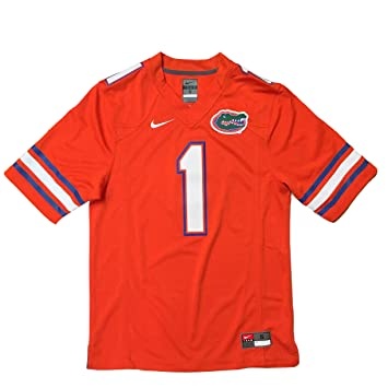 check out 439ee d385c Amazon.com : Nike Florida Gators No. 1 Stitched Limited ...