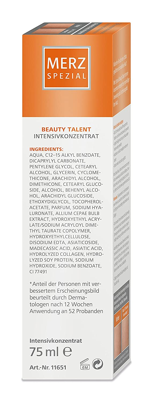 88d1ffab4d9695 Merz Spezial Pflegecreme Beauty Talent Intensivkonzentrat – Spezielles  Konzentrat zur Reduktion von Narben   Dehnungsstreifen– 1 x 75 ml Tube   Amazon.de  ...