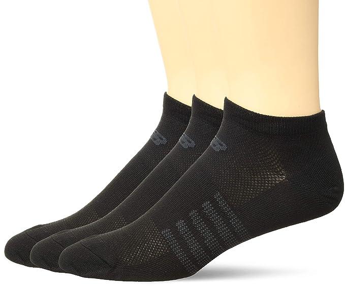 2a1df4fc54ac4 Amazon.com : New Balance Women's 3 Pack Lifestyle No Show Socks ...