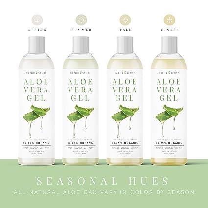 Amazon.com: Gel de aloe vera orgánico ideal para cara, pelo ...