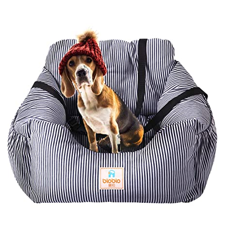 FRISTONE Asiento de Coche para Perro, Impermeable, Asiento Elevador de Seguridad para Mascotas con