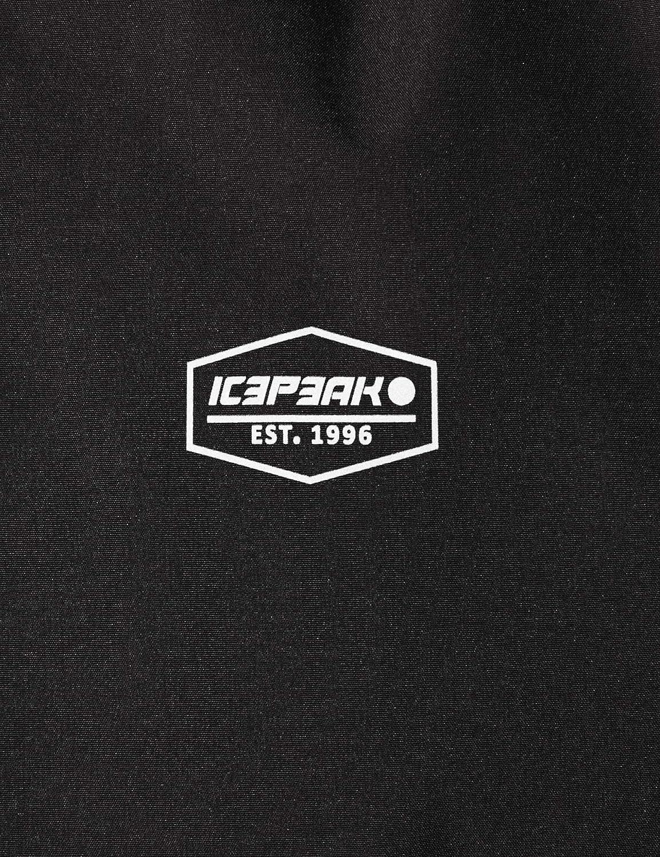 ICEPEAK Renee ni/ña Softshell Chaqueta Negro 164 cm Schwarz 13-14 a/ños