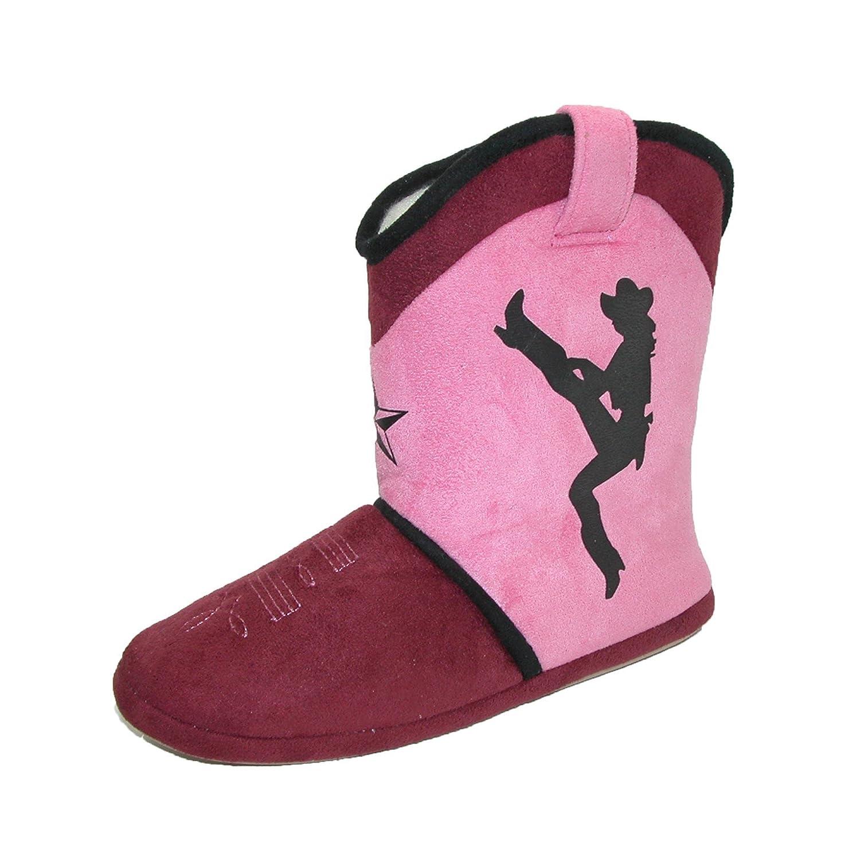CicciaBella Womens Dixie Darlin Cowgirl Boot Slippers