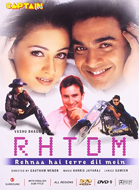 Image result for rehna hai tere dil mein best movies