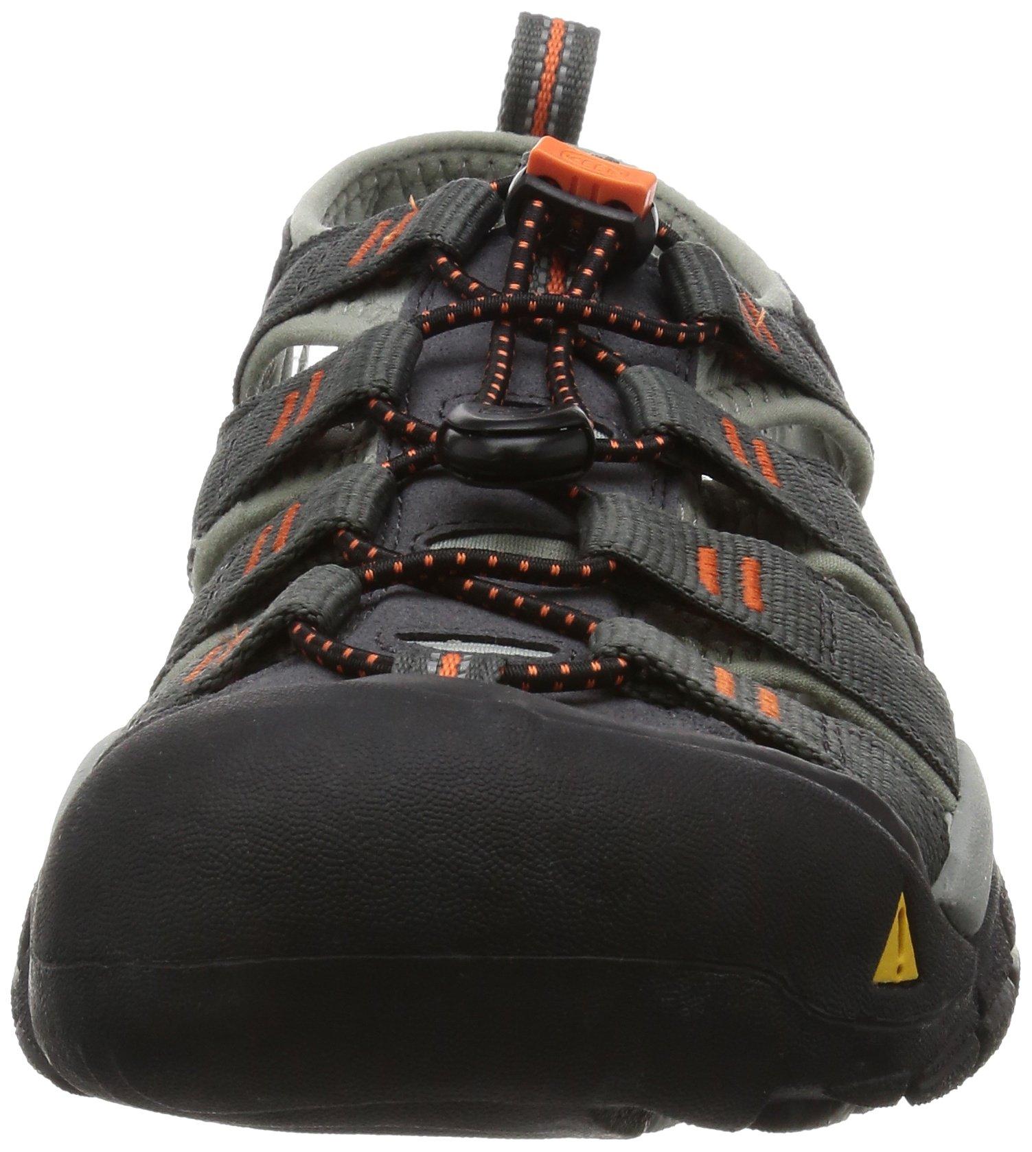 KEEN Men's Newport H2 Hiking Shoe, Magnet/Nasturtium, 15 M US by Keen (Image #4)