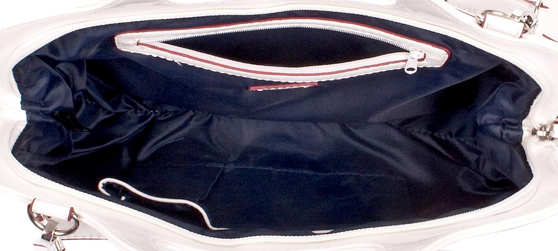 dccfea1e14f68 Enrico Coveri Henkeltasche schwarz weiß YY8391BK WH  Amazon.de  Koffer