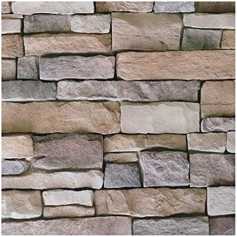 Livelynine 3d Brick Wallpaper Peel And Stick Backsplash For Kitchen Wall Decorations Airstone Wall Paper Decorations Stone Veneer Brick Wall Panels