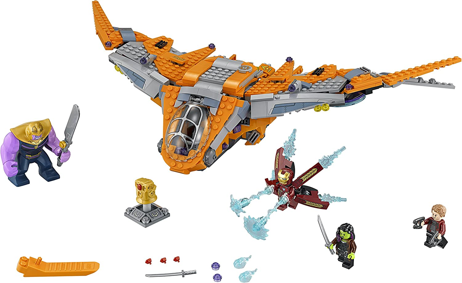 New legoings Super Heroes Avengers Infinity War Thanos Ultimate Battle 76107