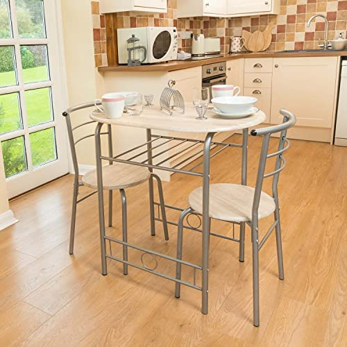 Kitchen Table And Chairs Amazon: Harbour Housewares 2 Person Space Saving, Compact, Kitchen