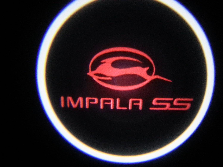 Amazon red impala ss chevy ghost door logo projector shadow amazon red impala ss chevy ghost door logo projector shadow puddle laser led lights 7w qty 2 automotive buycottarizona Images