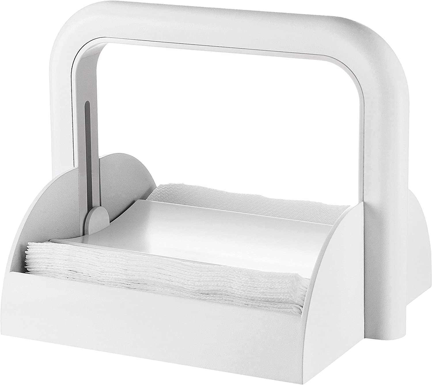 Guzzini Formas Casa 70055-11 Dispensador, Plástico, Color Blanco