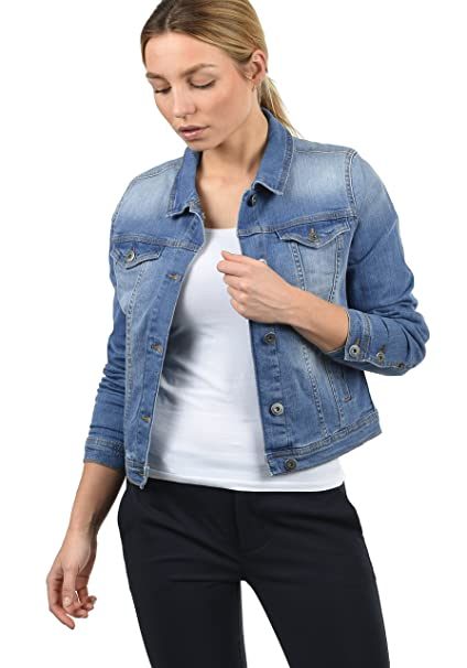 outlet store 7236a cad8f BlendShe Jeanie Giacca di Jeans Giacche Denim Mezza Stagione ...