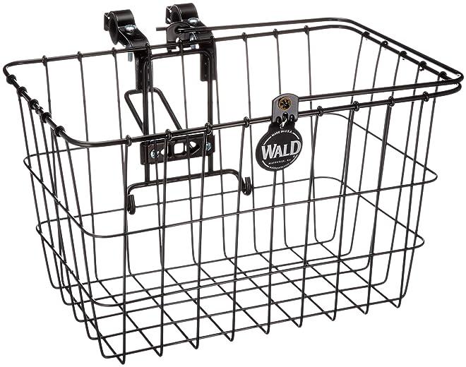 Wald 3133 Q-R Bolt-On Front Handlebar Bike Basket