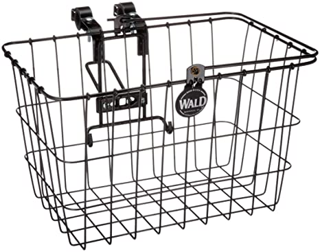 Amazon Com Wald 3133 Front Quick Release Bicycle Basket With Bolt