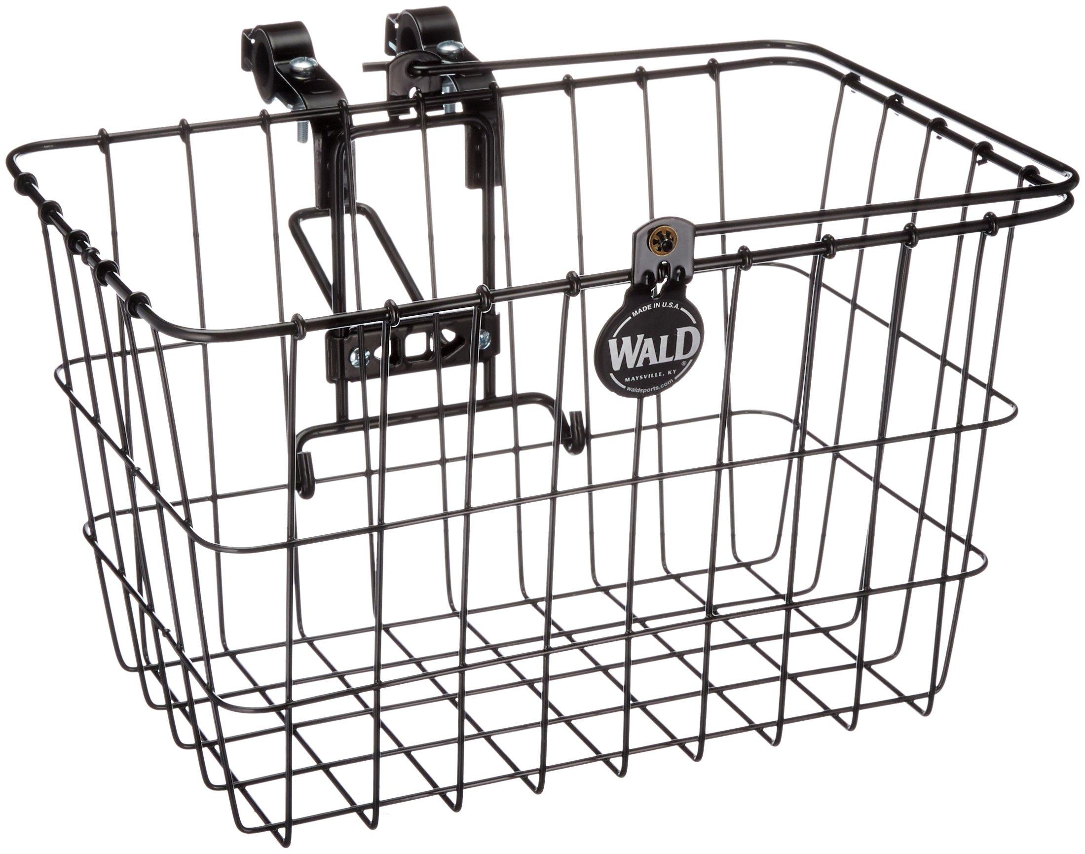 best rated in bike baskets helpful customer reviews amazon Food Symbol wald 3133 q r bolt on front handlebar bike basket product image