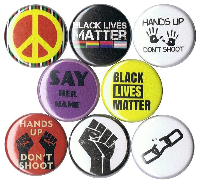 Amazon com: Set of 8 Black Lives Matter 1