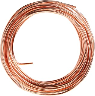 product image for Cerrowire 050-2000B 50-Feet 8 Gauge Bare Solid Copper Wire