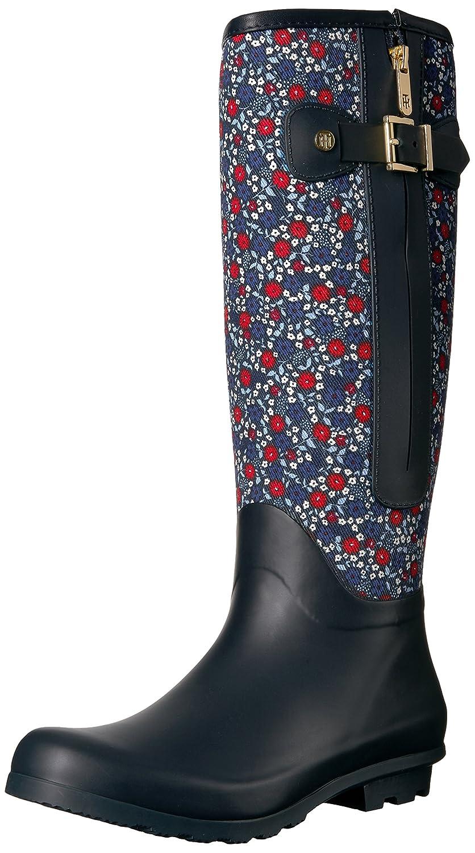 Tommy Hilfiger Women's Mela Rain Boot B01M2VMBRG 8 B(M) US|Floral
