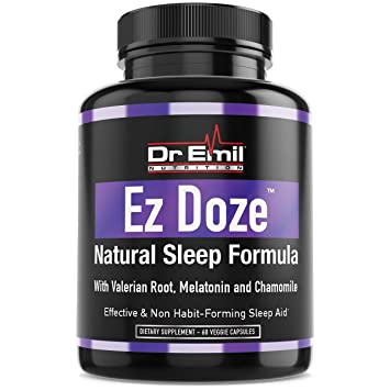 Dr. Emil - Natural Sleep Aid with Valerian Root, Melatonin, Chamomile & More