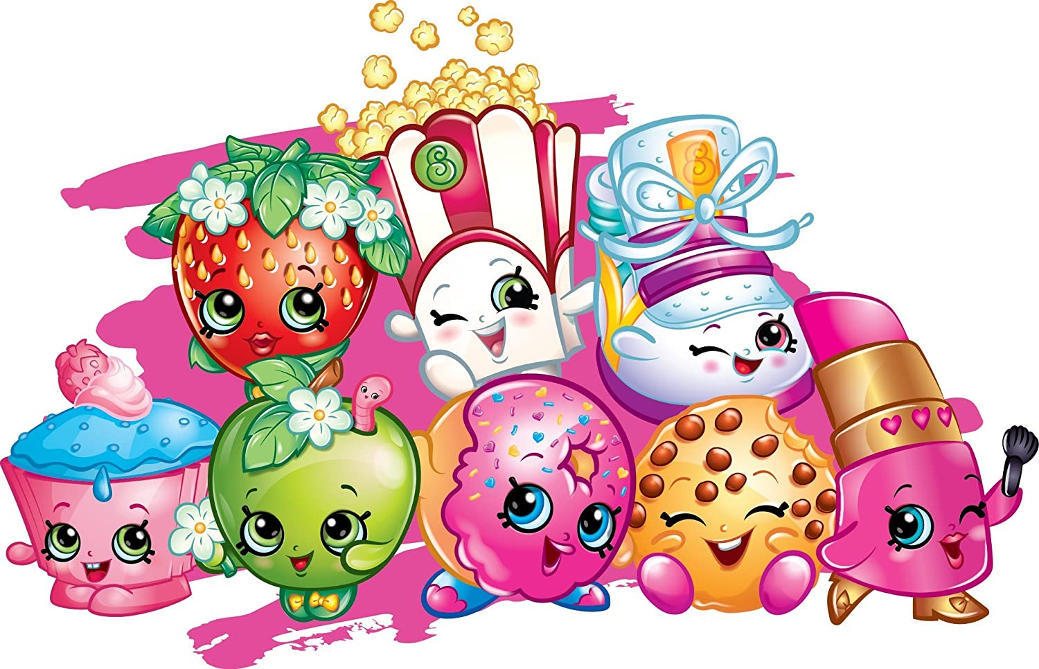 Shopkins birthday. Party edible frosting image