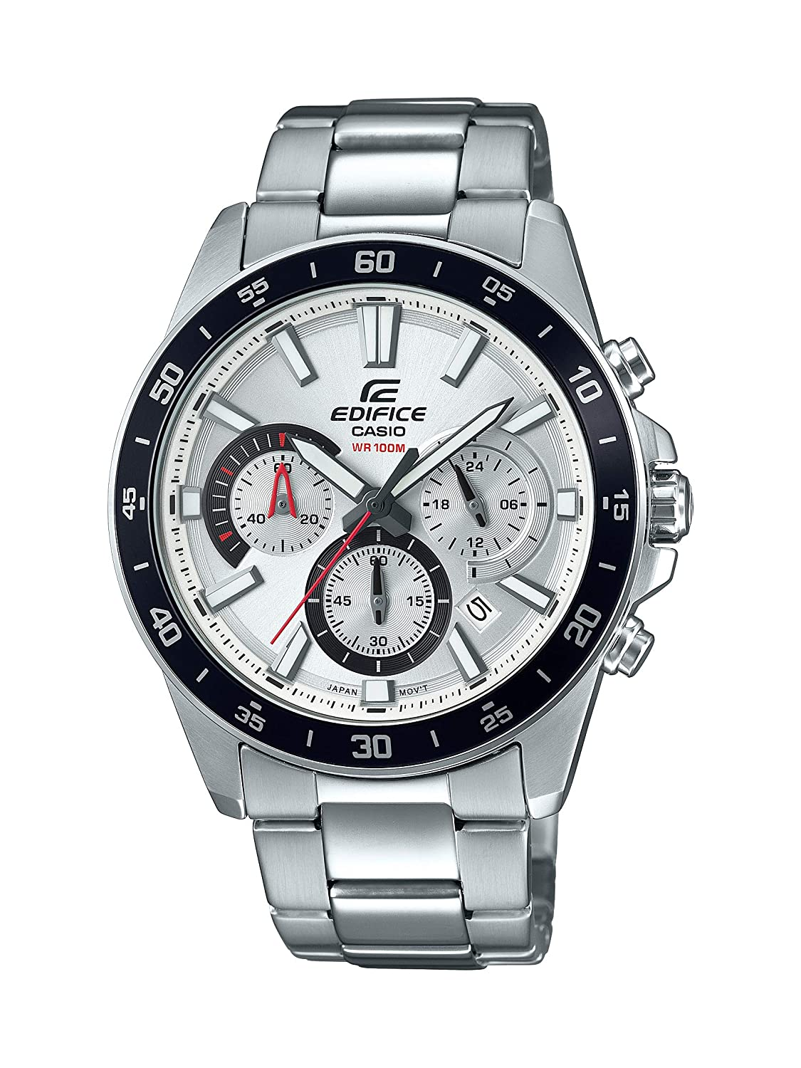Casio Men Edifice Quartz Watch with StainlessSteel Strap Silver 216 Model EFV570D7AVUDF