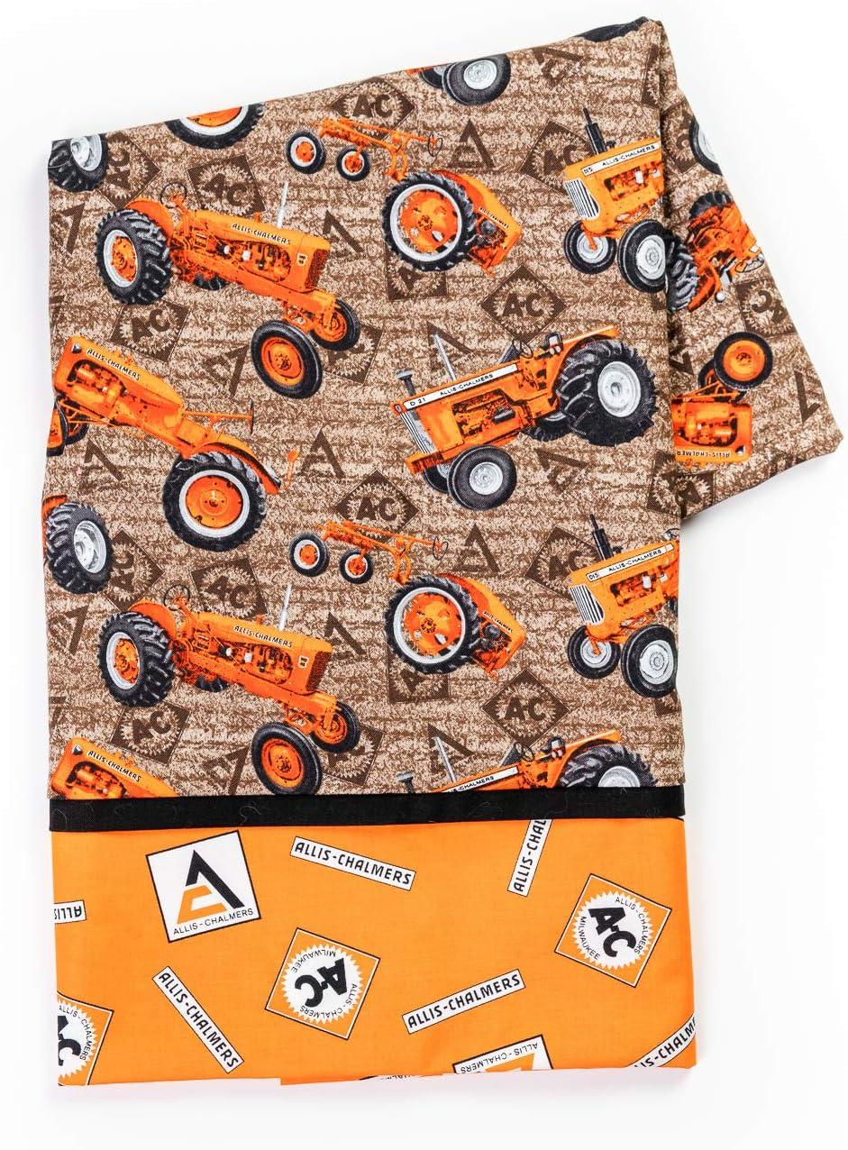 Kids Gray Allis-Chalmers Tractors Pillow Case