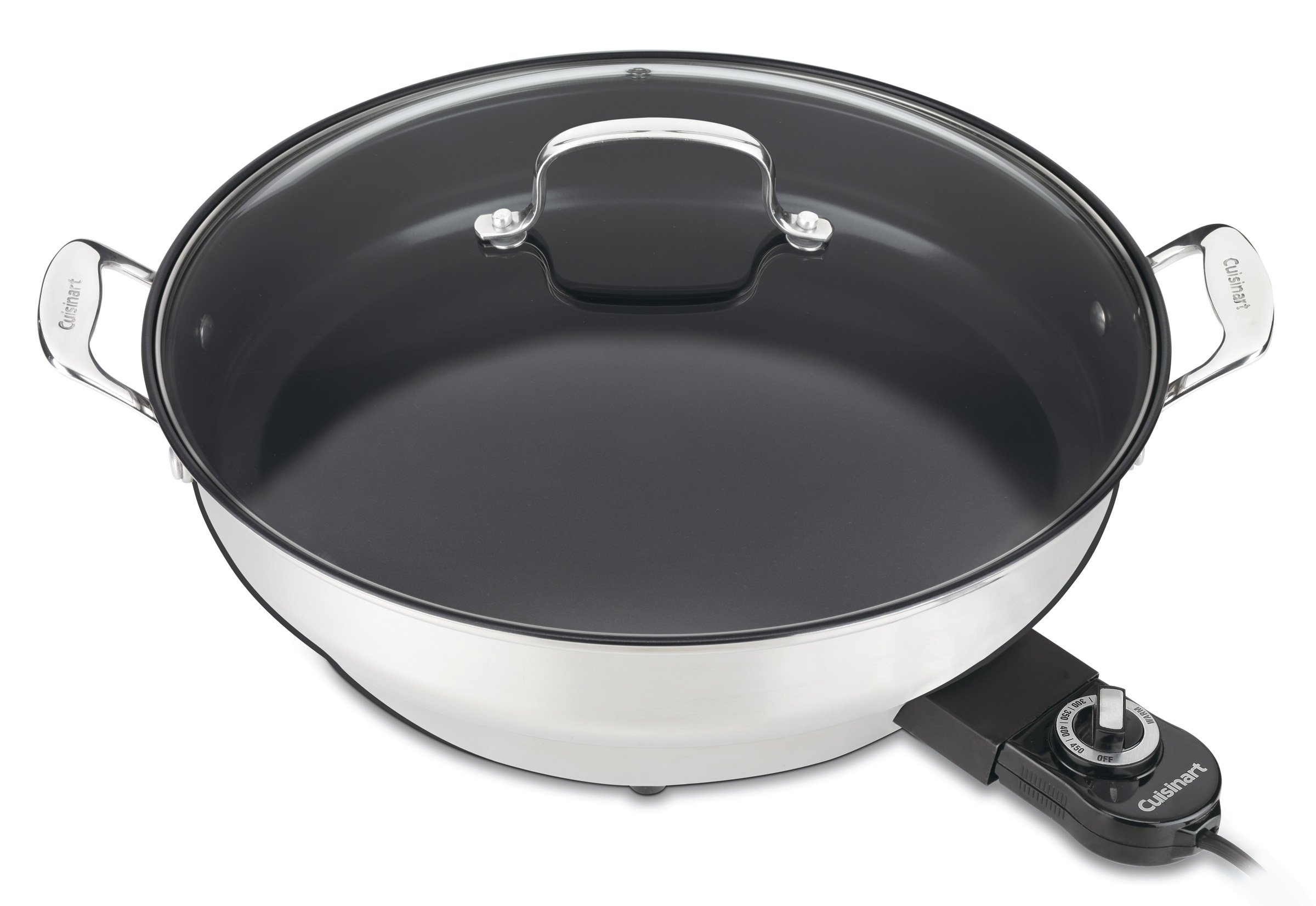 Cuisinart CSK-250WS GreenGourmet 14-Inch Nonstick Electric Skillet by Cuisinart
