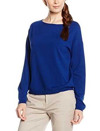 damen pullover von marco polo in blau