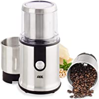 ADE KA1805 kaffekvarn elektrisk för espresso coffee grinder kryddkvarn nötkvarn spannmålkvarn (kvarn elektrisk 2…
