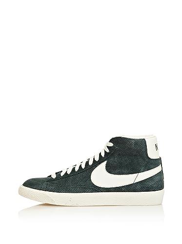 Neu Damen Nike Blazer Mid PRM VNTG Schuhe wei Hi Sneaker