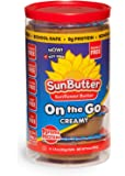 SunButter Sunflower Butter Allergen Free All Natural Alternative to Peanut Butter On the Go Single Cups (Creamy, 1.5 oz. Cups Pack of 6)