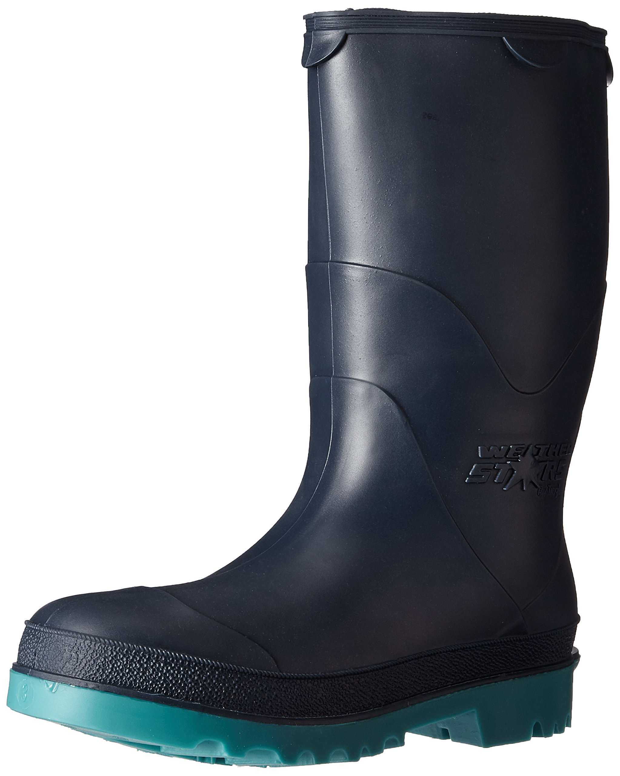 STORMTRACKS 11768.03 Youths' Boot, Size 03, Blue/Green