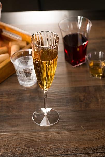 Review Premium Champagne Flutes 6
