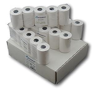 SMCO 20 Rolls 57mm x 57mm 57x57 Thermal Paper Till Cash Register Machine Receipt Printer Rolls Price includes VAT