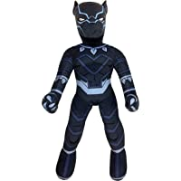 Jay Franco Marvel Super Hero Adventures Toddler Black Panther Plush Stuffed Pillow Buddy - Super Soft Polyester Microfiber, 22 inch (Official Marvel Product)
