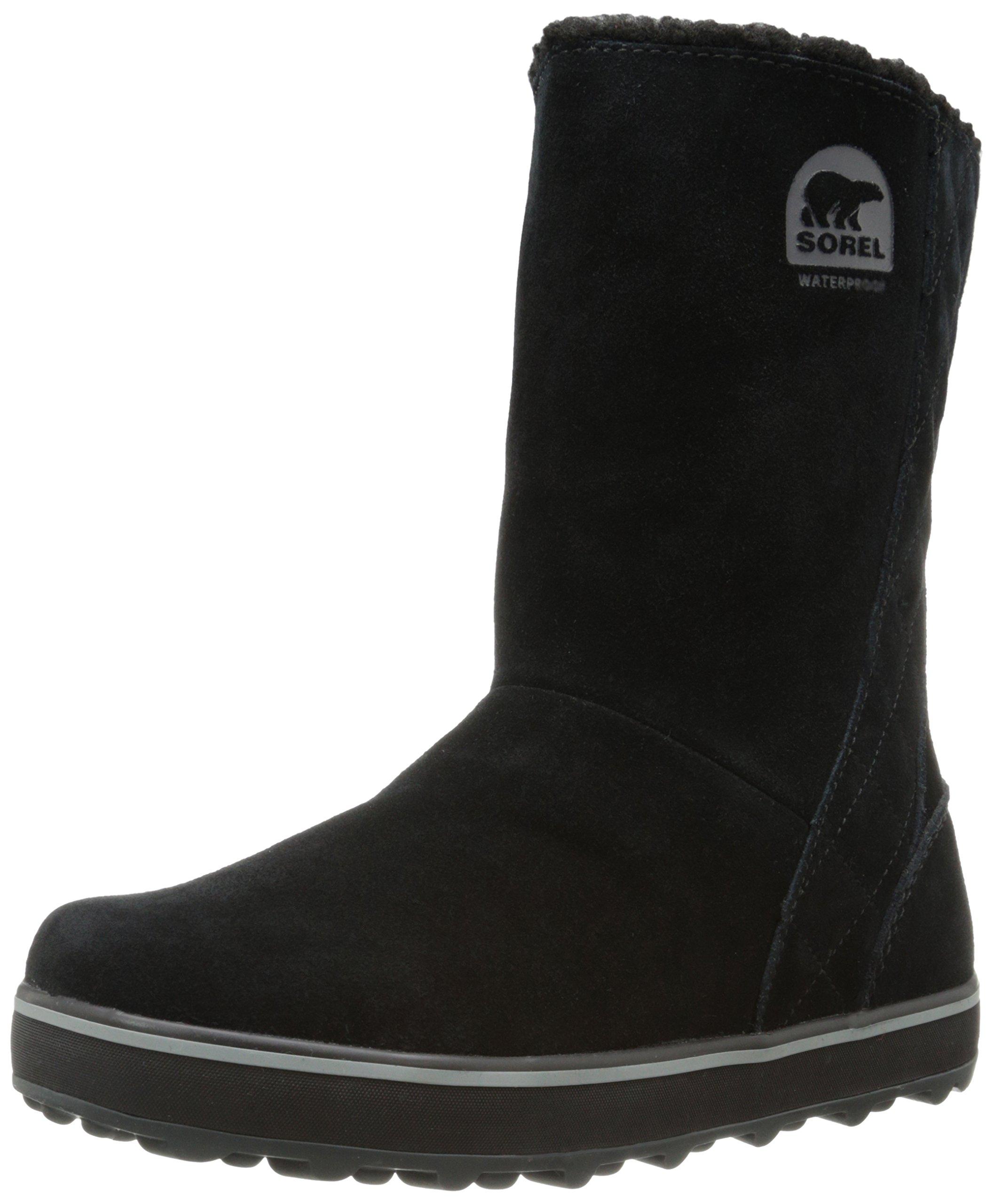 Sorel Women's Glacy Snow Boot,Black,11 M US