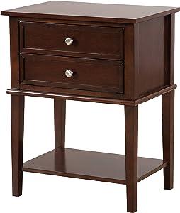 Glory Furniture Newton Nightstand, Standard, Cappuccino